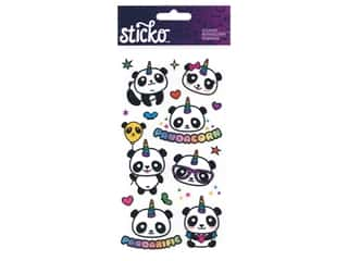 scrapbooking & paper crafts: EK Sticko Stickers Pandacorn