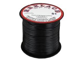 Pepperell Craft Lace Rexlace 100 yd Spool Pearlized Black