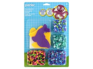 beading & jewelry making supplies: Perler Fused Bead Kit Ocean Buddies 2400 pc
