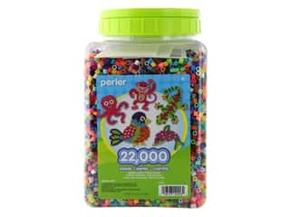 beading & jewelry making supplies: Perler Beads 22000 pc. Multi-Mix
