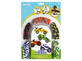 Perler Fused Bead Kit Race Car 2000 pc