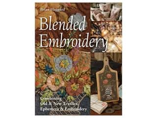 C&T Publishing Blended Embroidery Book