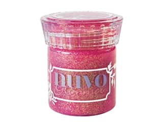 scrapbooking & paper crafts: Nuvo Glimmer Paste 1.7 oz. Pink Opal