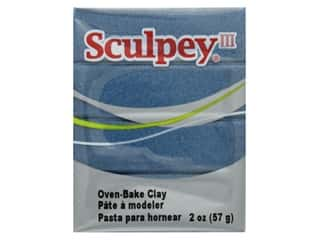 Sculpey III Clay 2 oz Navy Pearl