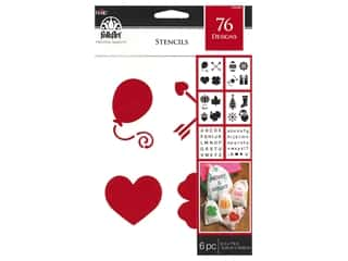 craft & hobbies: Plaid Stencil Folkart Paper 6 in. x 7.75 in. Value Pack Holiday