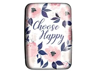 Lady Jayne Credit Card Case Indigo Leaf Floral