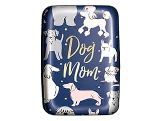 Lady Jayne Credit Card Case Sketched Dogs