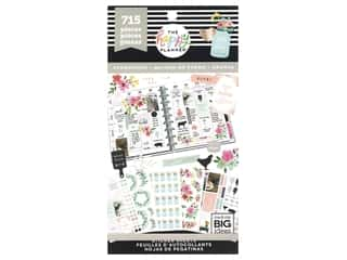 heart wreath: Me&My Big Ideas Happy Planner Sticker Value Pack Farmhouse