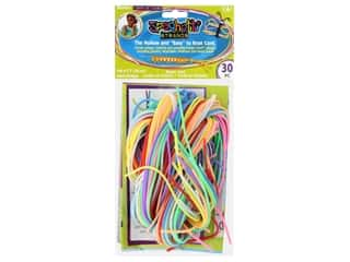 kids crafts: Darice Kid's Crafts Loopie Cord 30 pc. Assorted Colors