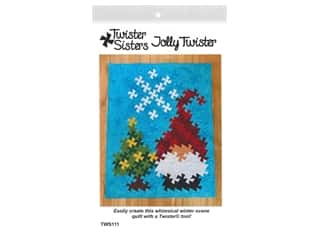 books & patterns: Twister Sisters Jolly Twister Pattern