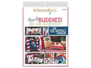 books & patterns: Kimberbell Designs Bench Buddies May June July & August Sewing Book