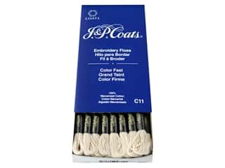 yarn & needlework: J & P Coats Six-Strand Embroidery Floss #5387 Cream (24 skeins)