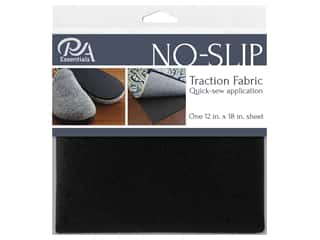 "PA Essentials No Slip Fabric 12""x 18"" Black"