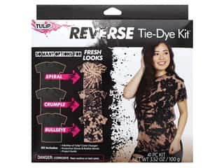craft & hobbies: Tulip Reverse Tie Dye Kit