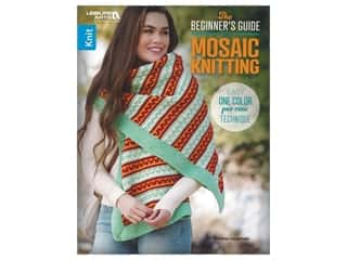 books & patterns: Leisure Arts Beginnier's Guide To Mosaic Knitting Book