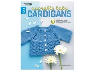 Leisure Arts Adorable Baby Cardigans Book