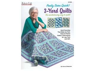books & patterns: Fabric Cafe Pretty Darn Quick 3 Yard Quilts Book