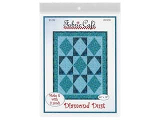 books & patterns: Fabric Cafe Diamond Dust 3 Yard Quilt Pattern