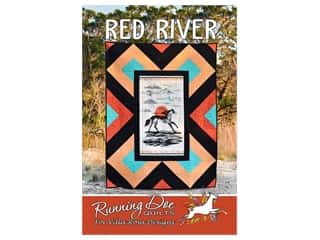Villa Rosa Designs Running Doe Red River Pattern