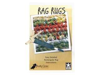 books & patterns: Rusty Crow Quilt Shop Rag Rugs With Tool Pattern