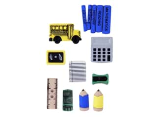 craft & hobbies: Jesse James Dress It Up Embellishments Basics Pencil Box