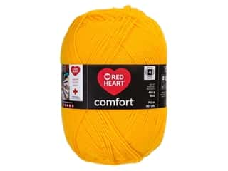 Red Heart Comfort Yarn 867 yd. #3182 Bright Yellow