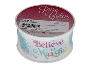 Morex Ribbon Believe 1.5 in. x 3 yd Multi-Color