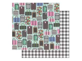 Pebbles Collection Hen Hadfield Chasing Adventures Paper 12 in. x 12 in. Ready Set Go (25 pieces)