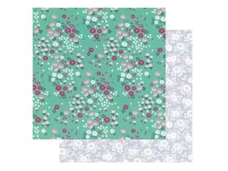 Pebbles Collection Hen Hadfield Chasing Adventures Paper 12 in. x 12 in. Cherry Blossoms (25 pieces)