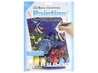 craft & hobbies: Royal Paint By Number Junior Small Underwater Life