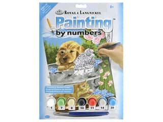 craft & hobbies: Royal Paint By Number Junior Small Bathtime Friends