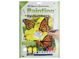 craft & hobbies: Royal Paint By Number Junior Small Majestic Monarchs
