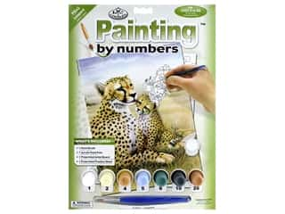 craft & hobbies: Royal Paint By Number Junior Small Leopard