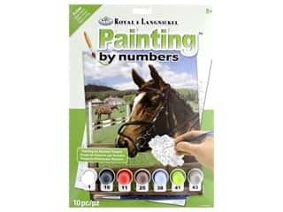 projects & kits: Royal Paint By Number Junior Small Equine Paddock