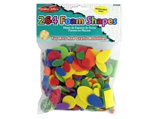 Creative Arts Foam Shapes 264 pc Assorted