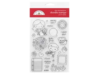 Doodlebug Doodle Stamp Clear Love You're Sweet