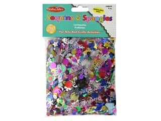 Creative Arts Sequins & Spangles 4 oz