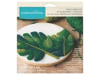 Dimensions Punch Needle Kit 8 in. Leaves