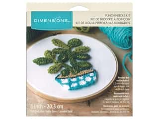yarn: Dimensions Punch Needle Kit 8 in. Jade