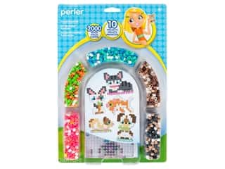 beading & jewelry making supplies: Perler Fused Bead Kit 3D Pets 2000 pc