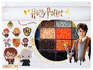 beading & jewelry making supplies: Perler Fused Bead Kit Deluxe Warner Bros Harry Potter 4500 pc