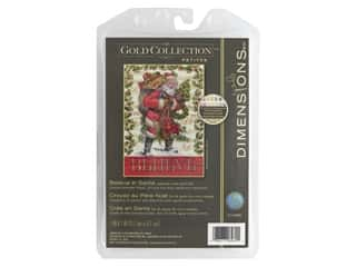 yarn & needlework: Dimensions Counted Cross Stitch Kit 5 x 7 in. Believe In Santa