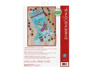 yarn & needlework: Dimensions Counted Cross Stitch Kit Llama Stocking