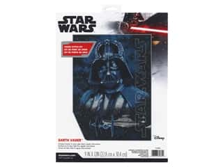 yarn: Dimensions Counted Cross Stitch Kit 9 x 12 in. Darth Vader
