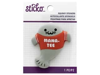scrapbooking & paper crafts: Sticko Squishy Stickers - Mana-Tee