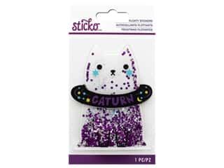 scrapbooking & paper crafts: EK Sticko Sticker 3D Floaty Caturn