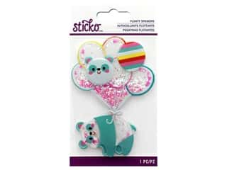 EK Sticko Sticker 3D Floaty Animal Balloon