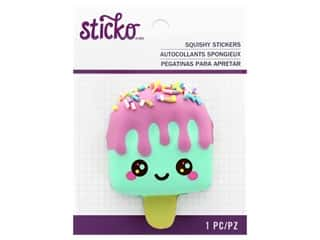 scrapbooking & paper crafts: EK Sticko Stickers Squishy Popsicle