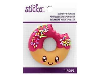 EK Sticko Stickers Squishy Donut