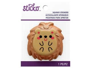 Sticko Squishy Stickers - Hedgehog